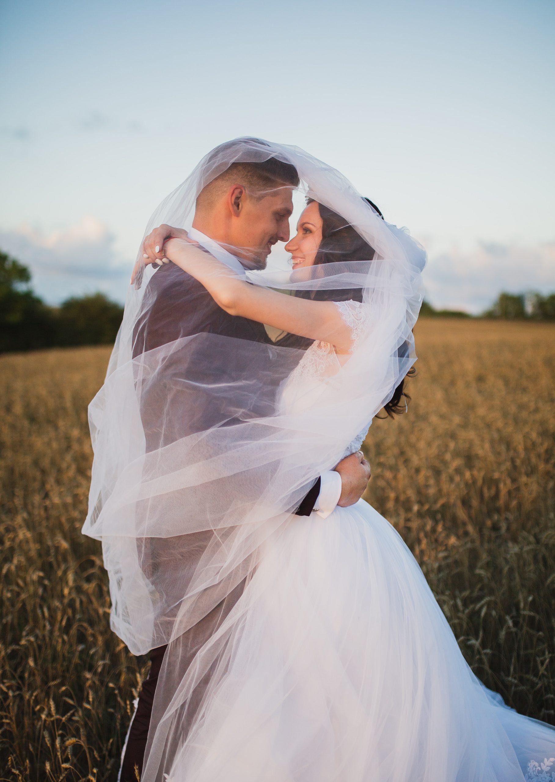 Brautpaar - Hochzeit - Foto